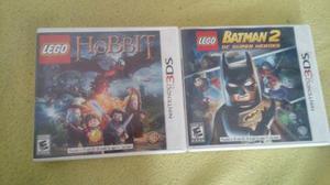 Dos Juegos De Nintendo 3ds Lego Batman +el Hobbit+regalo