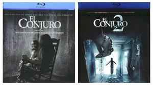 El Conjuro The Conjuring Paquete Con Peliculas 1 Y 2 Blu-ray