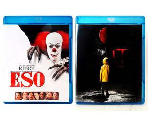 Eso It 2017 Y 1990 Paquete Stephen King Pelicula Blu-ray