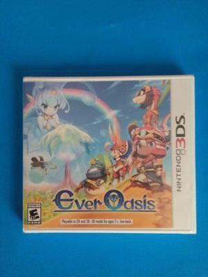 Ever Oasis 3ds Nuevo Sellado Nintendo N3ds Trqs