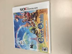 Ever Oasis Nintendo 3ds Nuevo Y Sellado