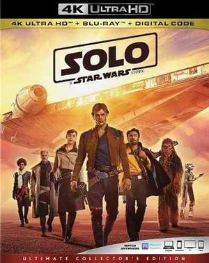 Han Solo: Una Historia De Star Wars 4k Bluray Digital