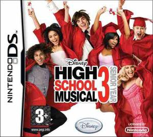 High School Musical 3 Zac Videojuego Nintendo Ds (nuevo)