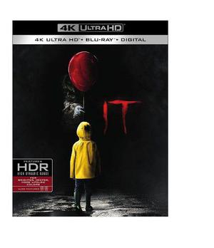 It Eso 2017 Stephen King Pelicula 4k Ultra Hd + Blu-ray