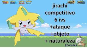 Jirachi Pokemon Ultra Sol Luna Omega Xy Competitivo