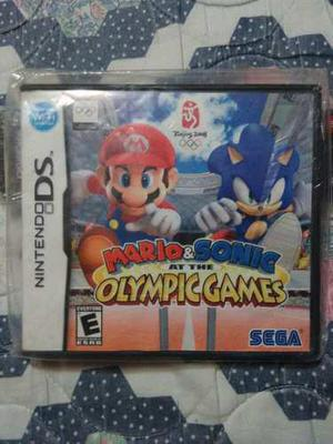 Juego De Nintendo Ds Mario & Sonic At The Olimpic Games