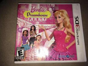 Juego Fisico Barbie Dreamhouse Party Nintendo 3ds
