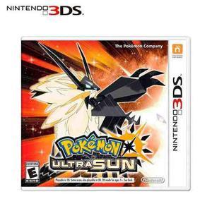 Juego Fisico Pokemon Ultra Sun Nintendo 3ds Nintendo 2ds