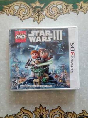 Juego Lego Star Wars 3 Nintendo 3ds 2ds