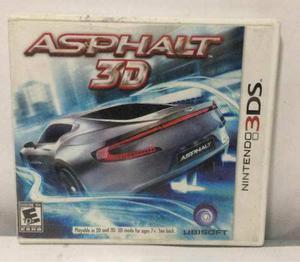 Juego Nintendo 3ds Asphalt 3d Usado 358ju