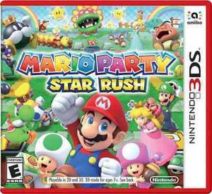 Juego Nintendo 3ds Mario Star Rush, Envio Gratis!