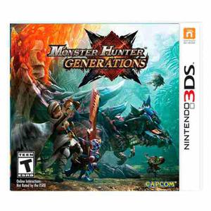 Juego Nintendo 3ds Monster Hunter G. Acc Ibushak Gaming