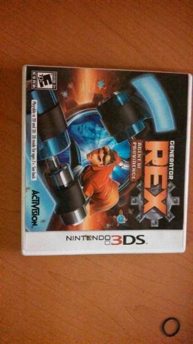Juego Para Nintendo 3ds Generator Rex Nuevo