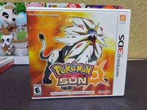 Juego Pokemon Sun Para Nintendo 3ds Nuevo Y Sellado