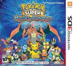 Juego Pokemon Super Mystery Dungeon Para Nintendo 3ds Nuevo