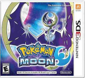 Juego Pokémon Moon Para Nintendo 3ds Nuevo Sellado