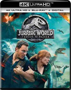 Jurassic World: El Reino Caído 4k Bluray Digital