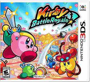 Kirby Battle Royale Nintendo 3ds Nuevo Y Sellado
