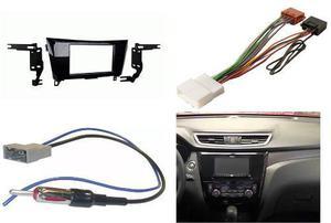 Kit Frente 2 Din Arnes Antena Nissan X-trail Año 2015 A
