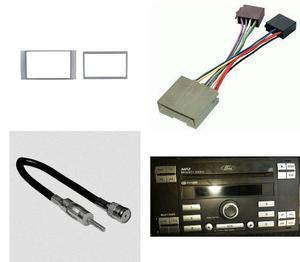 Kit Frente 2 Din Arnes Y Antena Ford Ikon Año 2012 A 2015