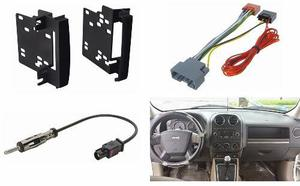 Kit Frente Arnes Y Antena Para Jeep Patriot Año 2009 A 2016