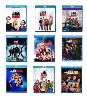 La Teoria Del Big Bang Paquete Temporadas 1 - 9 Serie Bluray