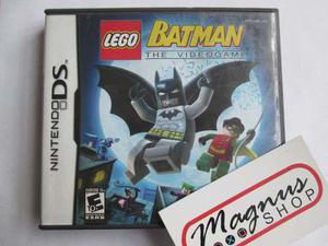 Lego Batman Nintendo Ds Nds Aventura Gran Juego Garantizado