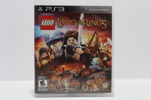 Lego Lord Of The Rings Ps3 Consolas De Luigi