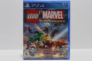 Lego Marvel Super Heroes Sellado Ps4 Consolas De Luigi