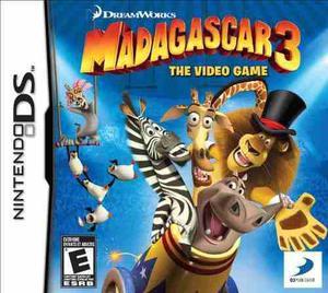 Madagascar 3 El Videojuego - Nintendo Ds