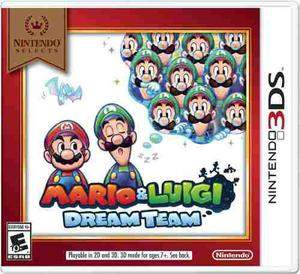 Mario & Luigi Dream Team Para Nintendo 3ds Sellado