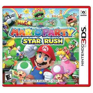 Mario Party Star Rush Nintendo 3ds Nuevo Y Sellado