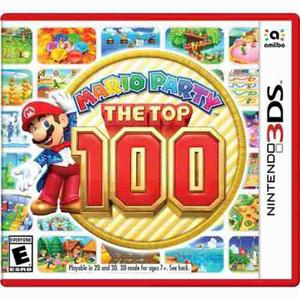 Mario Party The Top 100 Nintendo 3ds Nuevo Y Sellado