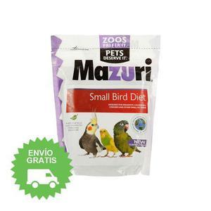 Mazuri Small Bird Diet (alimento Para Aves Pequeñas) 350