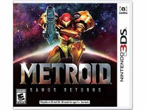 Metroid Samus Returns Nintendo 3ds Nuevo Y Sellado