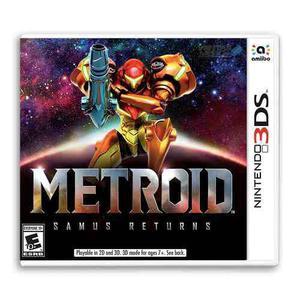 Metroid: Samus Returns Para Nintendo 3ds - Nuevo Y Sellado
