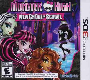 Monster High New Ghoul In School Juego Nintendo 3ds Karzov