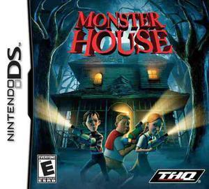 Monster House Videojuego Nintendo Ds Envio Gratis!!!