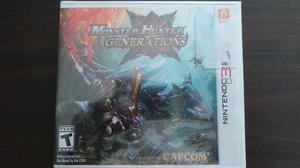 Monster Hunter Generations 3ds Nuevo Sellado