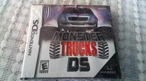 Monster Trucks Nintendo Ds Nds Juego Nuevo Sellado D Fabrica