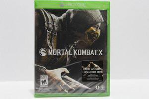 Mortal Kombat X Sellado Xbox One Consolas De Luigi