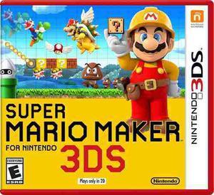Nintendo 3ds Juego Super Mario Maker Nuevo Y Sellado