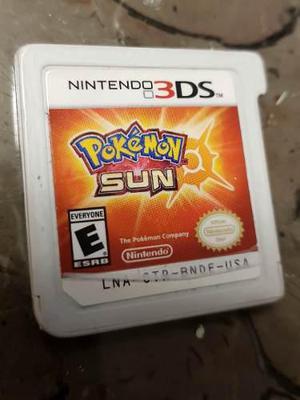 Nintendo 3ds Pokemon Sun Videojuego