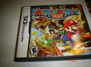 Nintendo Ds Super Mario Party Original Excelente Juego