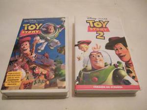Película Vhs Disney Pixar Toy Story 1 Y 2 Pkt