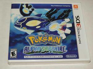 Pokemon Alpha Sapphire - Nintendo 3ds - Nuevo
