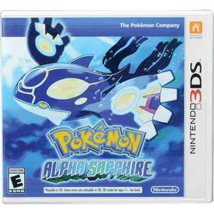 Pokemon Alpha Sapphire Nintendo 3ds Nuevo Y Sellado