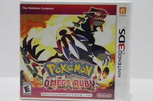 Pokemon Omega Ruby 3ds Consolas De Luigi