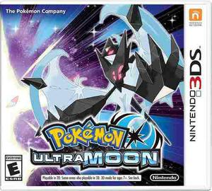 Pokemon Ultra Moon Nintendo 3ds Nuevo