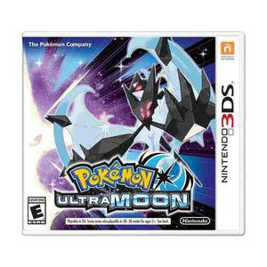 Pokemon Ultra Moon Nintendo 3ds Nuevo Y Sellado